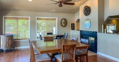 Large living space in our Lake of the Ozarks condo rental at Rocky Mount, MO
