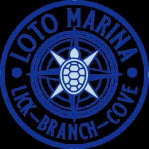 LOTO Marina logo - Lick Branch Cove at Lake of the Ozarks